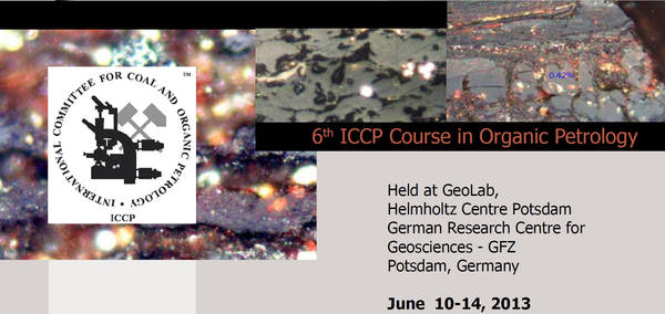 6th ICCP Course on Organic Petrology at GFZ, Potsdam